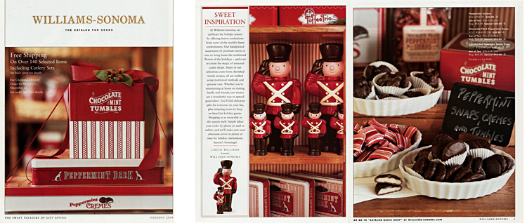 Williams Sonoma - Holiday Gatefold